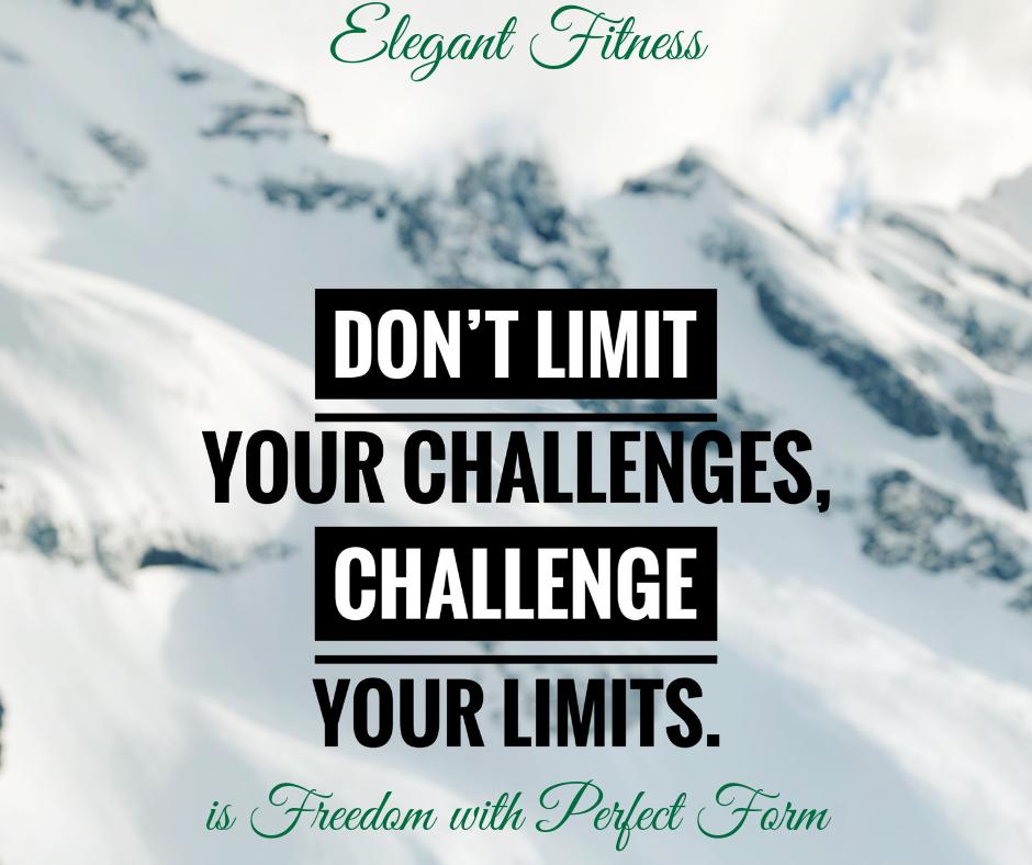 Elegant Fitness sets a Form Challenge
