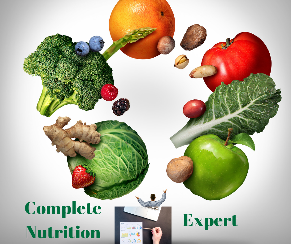Expert with complete nutrition coaching