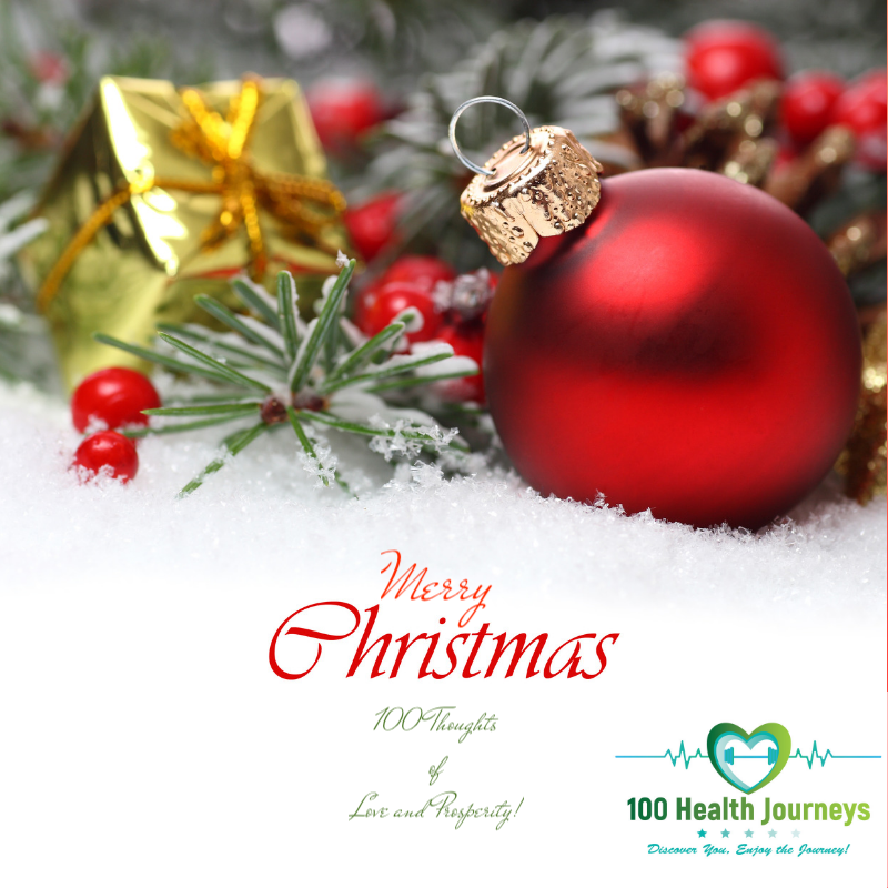 Christmas thoughts from 100 Health Journeys