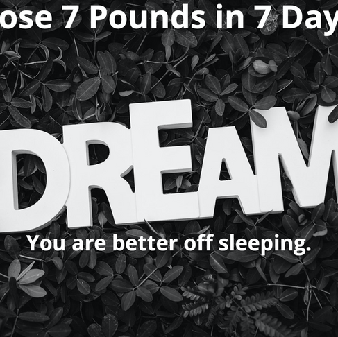 This is What Happens when You Love to  Crush 7 Pounds in 7 Days