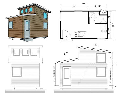 Accessory Dwelling Unit - Qwik Home 240 by Innovative Building Technologies