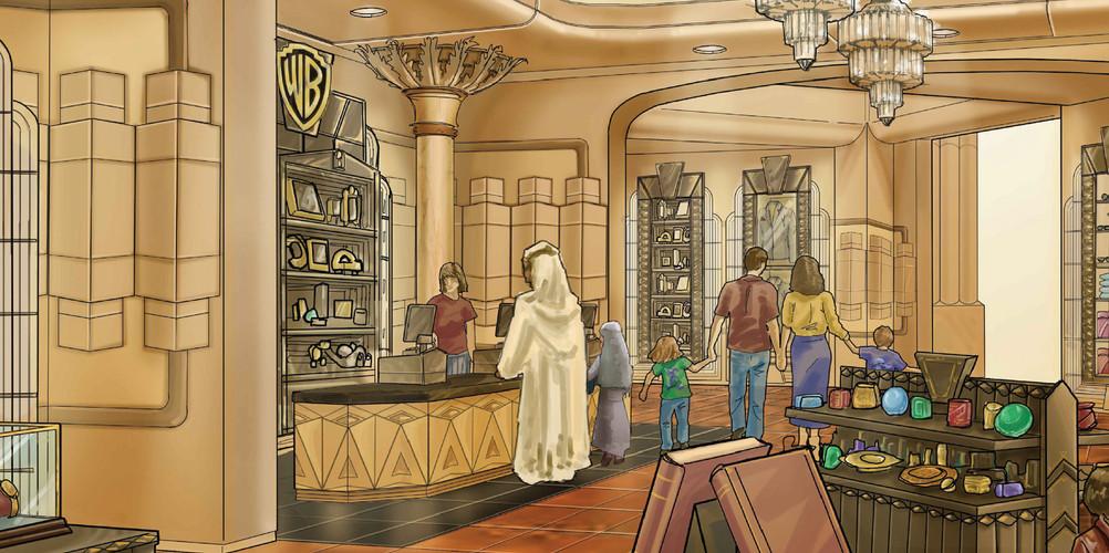 Studio Store Retail - Warner Bros Theme Park