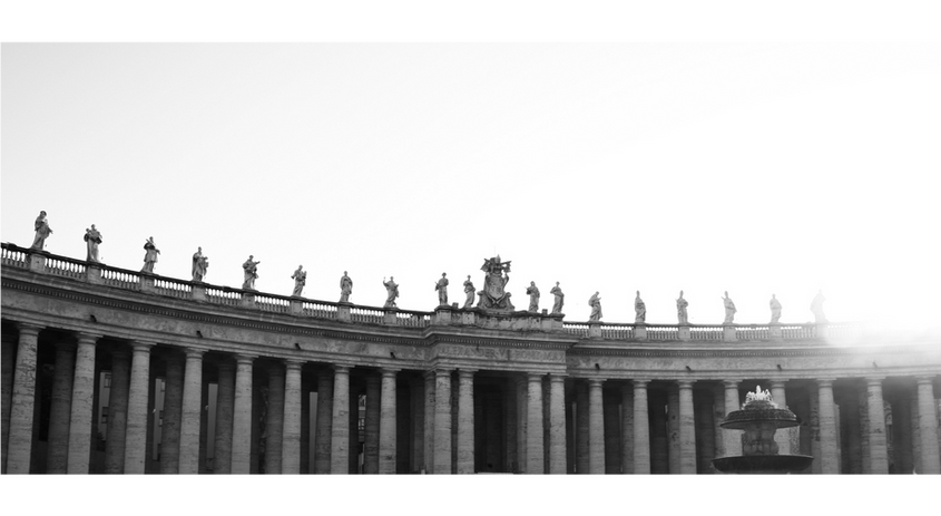 St. Peter's Square: Rome, Italy