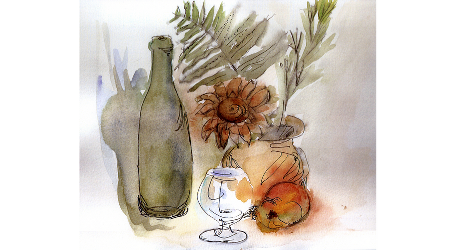 Still Life Water Color