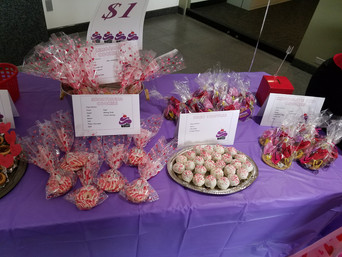 Valentine's Day Bake Sale Success
