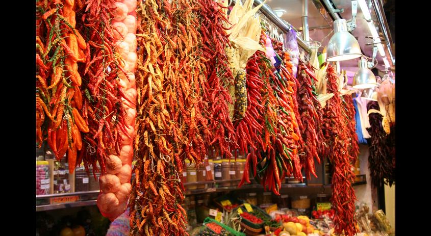 Spanish Market: Madrid, Spain