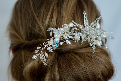 Newgale Collection - Spring Flower Hair Comb