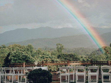Rainbow Wedding in the Smokies