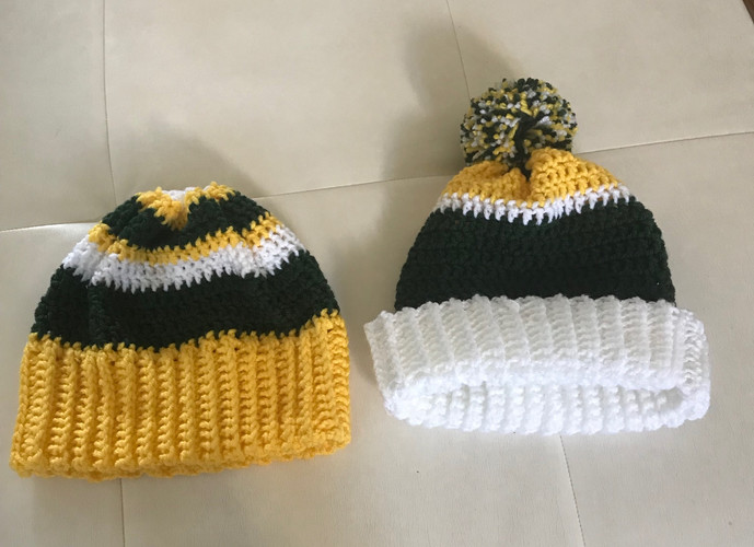 Roots and sprouts hats