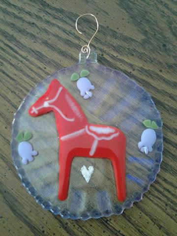 Horse Memorial Art
