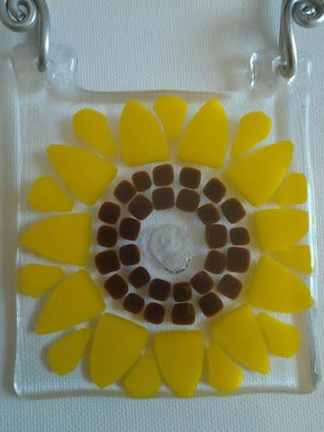 Sunflower Cremation Art