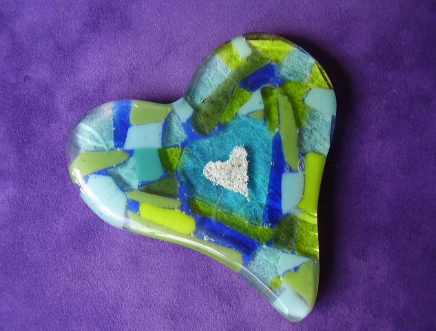 Heart Cremation Desk Item