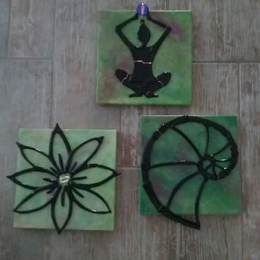 Spiritual Trio Hybrid Art