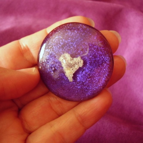 Purple Cremation Touchstone
