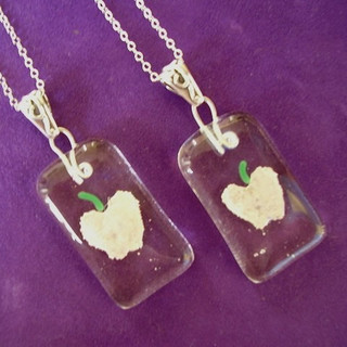 Apple Cremation Jewelry