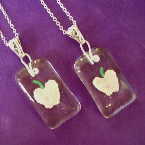 Apple Cremation Jewelry
