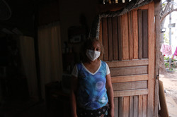 Marta Ribeiro Rocha já espera há 10 anos por uma habitação na fila da Cohab