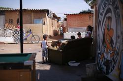 Muitos idosos e crianças vivem na ocupação Viva Jardim Julieta