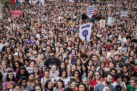 Ato #Elenão em São Paulo  30 de setembro de 2018