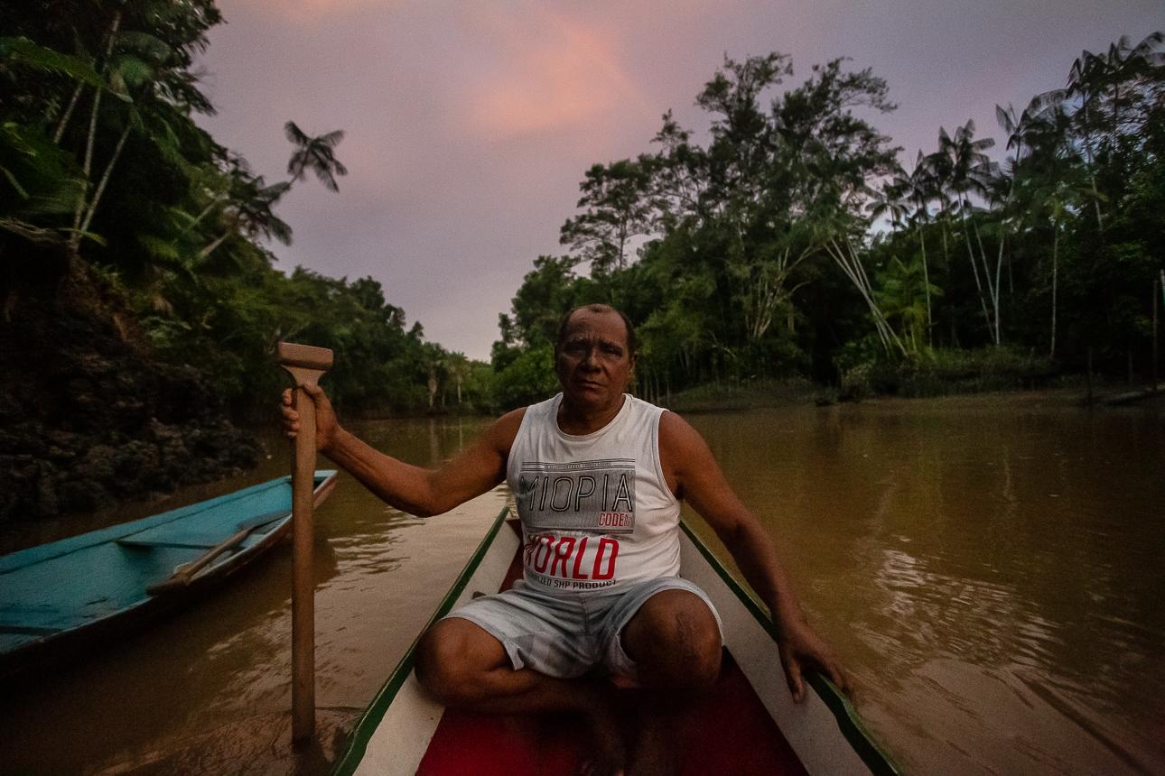 Osvaldo Batista, ex-presidente da Arquig, passou anos sendo ameaçado pelos feitores da Fazenda