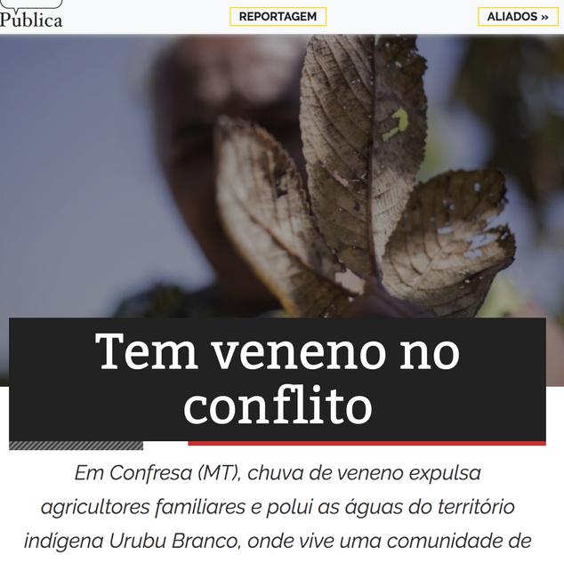 Agência Pública - Agosto de 2019