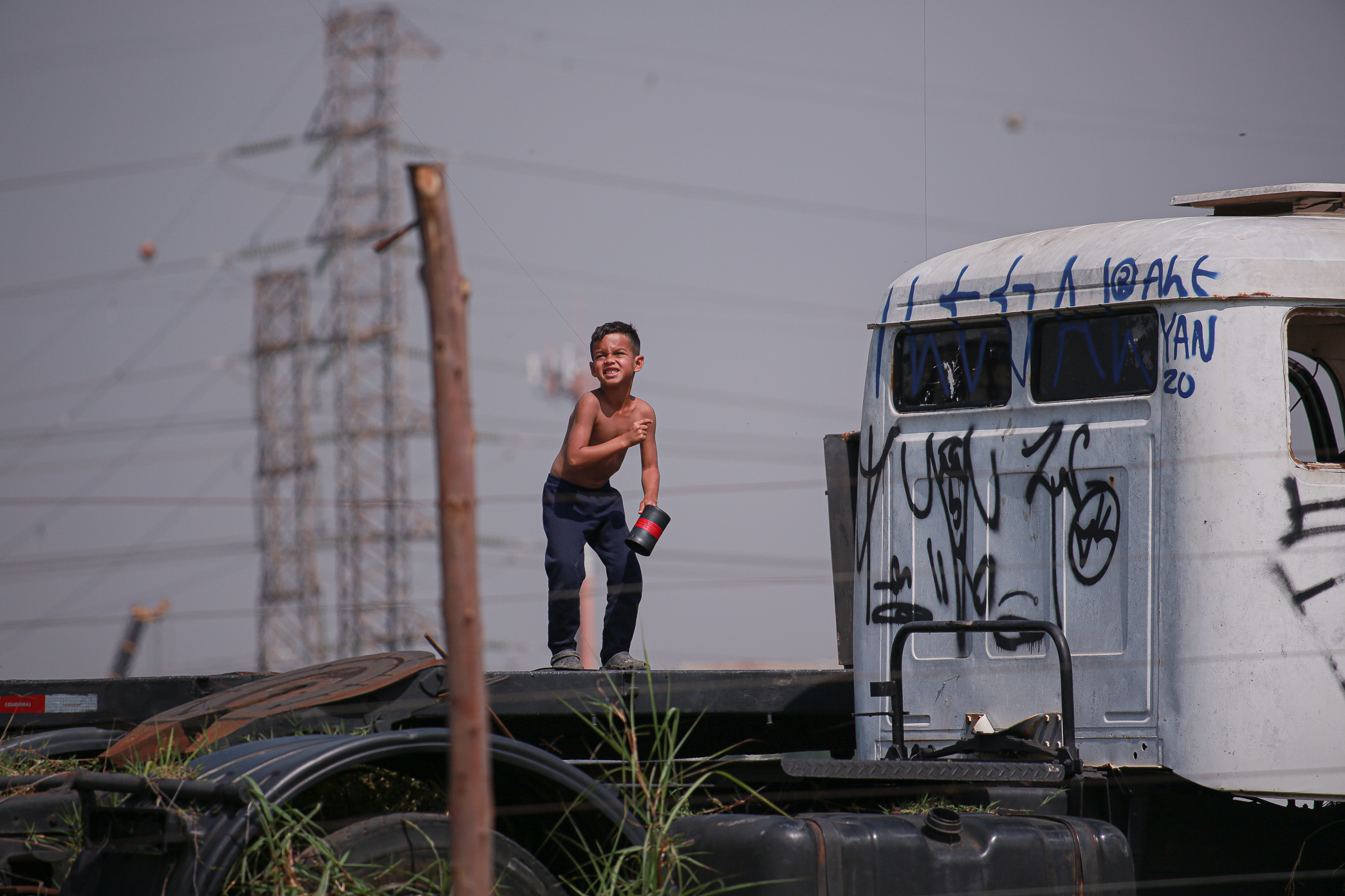 Moradores da ocupação Viva Jardim Julieta tentam adiar segundo despejo durante a pandemia, dessa vez
