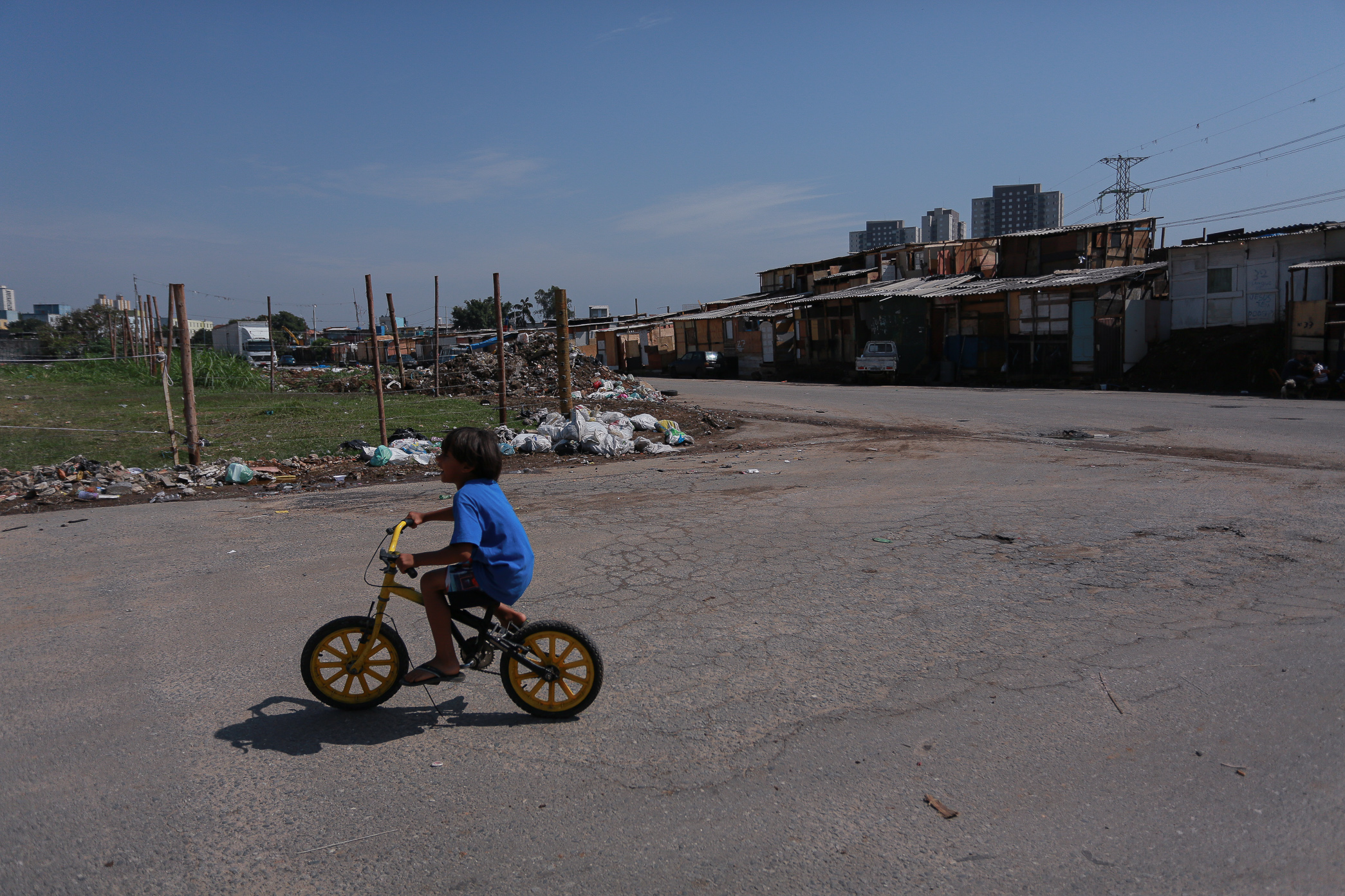 Cerca de 800 famílias estão ameaçadas de despejo na ocupação Viva Jardim Julieta