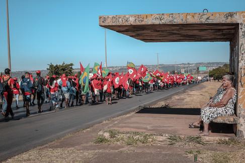 Marcha Nacional do Movimento dos Trabalhadores Sem-Terra - Brasília, agosto de 2018