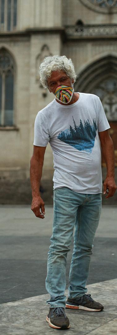 Há apenas sete meses nas ruas, Reinaldo Toledo, 64 anos, mudou sua vida por completo com a morte da mulher com quem conviveu 23 anos.
