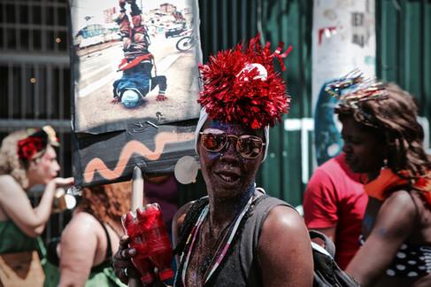 """""""Blocolândia"""" - Bloco de carnaval dos usuários de drogas da Cracolândia  São Paulo - Carnaval de 2018"""