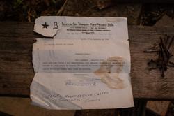 Fazenda São Joaquim mandava comunicados para os quilombolas, reiterando sua propriedade sobre a área