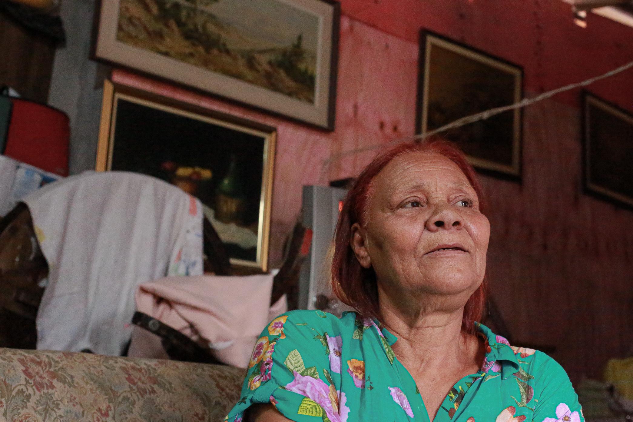 Ieda de Oliveira das Virgens, 64, já passou por uma reintegração de posse, em 2013