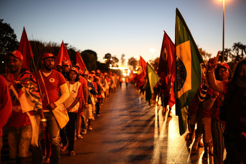 Marcha Nacional Lula Livre - Brasília - 14-08-18