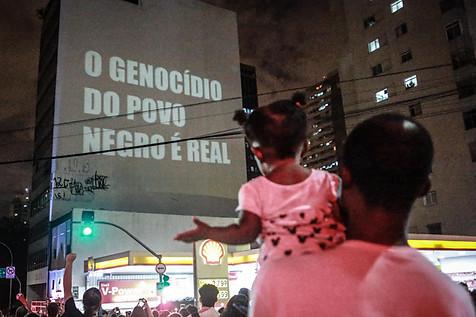 Manifestação em homenagem à vereadora Marielle Franco, no dia seguinte ao seu assassinato   São Paulo - 15 de março de 2018