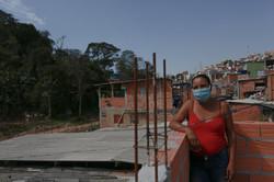"""Dilma Santos, 53: """"É abençoado esse lugar pra mim, me apoiou na hora que eu tava mais precisando. Me"""
