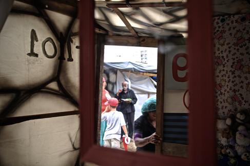 """Acampamento """"Povo Sem Medo"""" do Movimento dos Trabalhadores Sem-Teto (MTST)   São Bernardo do Campo - outubro de 2017"""