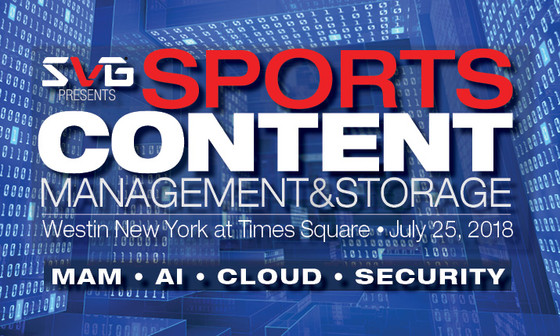 SVG Sports Content - AI, Cloud & Security