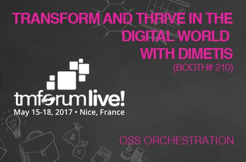 Dimetis to Present at TM Forum Live! in Nice, France