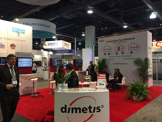 Dimetis at NAB Show - Las Vegas, NV