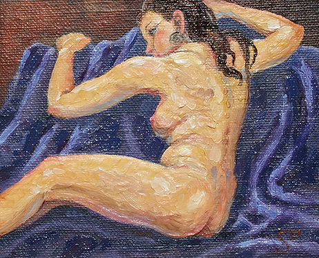 Recumbant Seated Nude 2