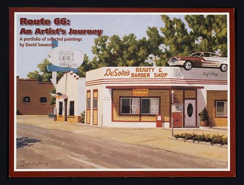 Route 66; An Artist's Journey Folio