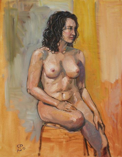 Seated Nude 6