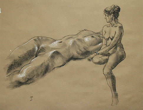 Reclining, Seated Nudes