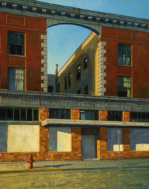 Brick Building: Deerlodge, MT
