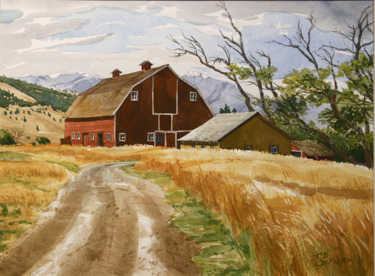 Old Red Barn with Out Buildings  (286).jpg