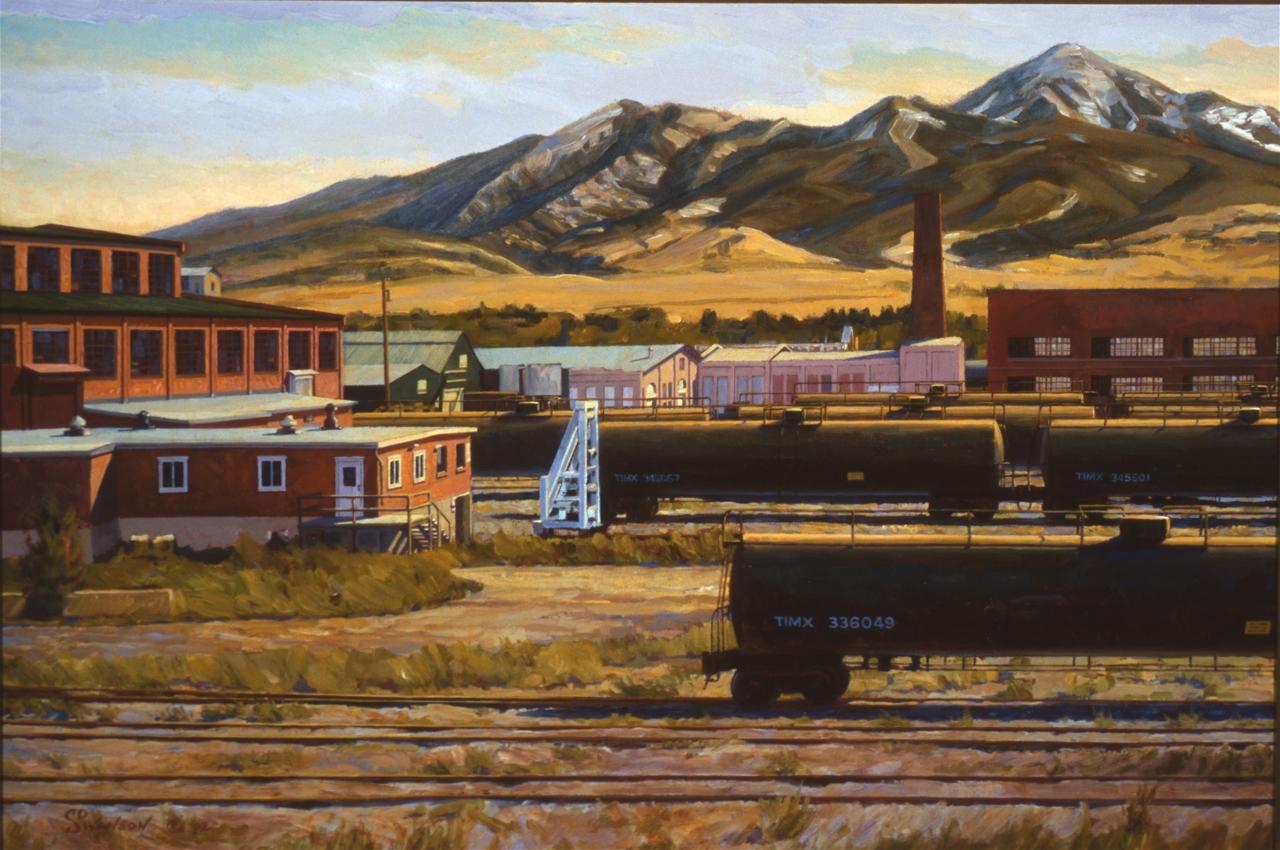Rail Yard in Afternoon Sun  (120).jpg