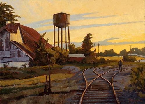 Bristow Rail Yard