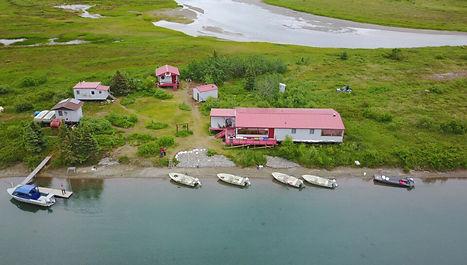 Alaska fly in fishing lodge