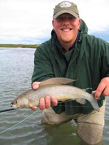 alaska grayling fishing