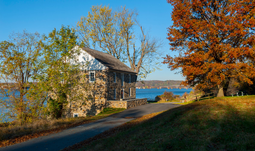 PERRY POINT GRIST MILL & MANSION HOUSE